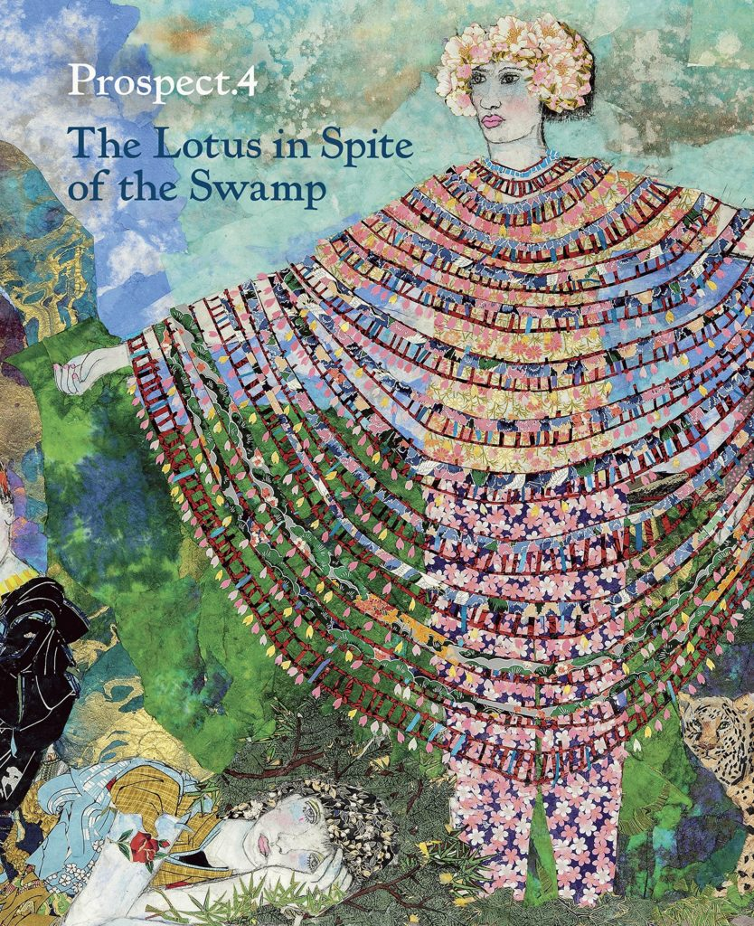 Artwork by Maria Berrio on the cover of the catalogue for Prospect.4: The Lotus in Spite of the Swamp